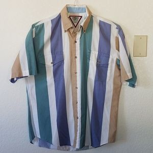 Men's Vintage Short Sleeve Western Shirt by Roper